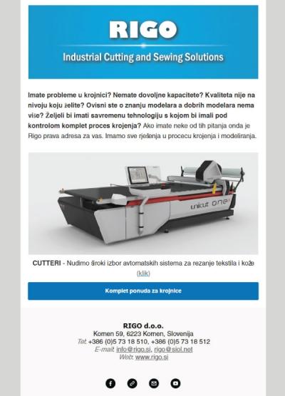 email marketing kampanja studio terčon