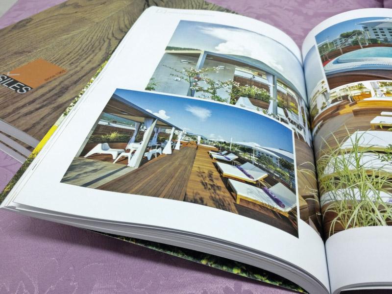 grafično oblikovanje kataloga studio terčon