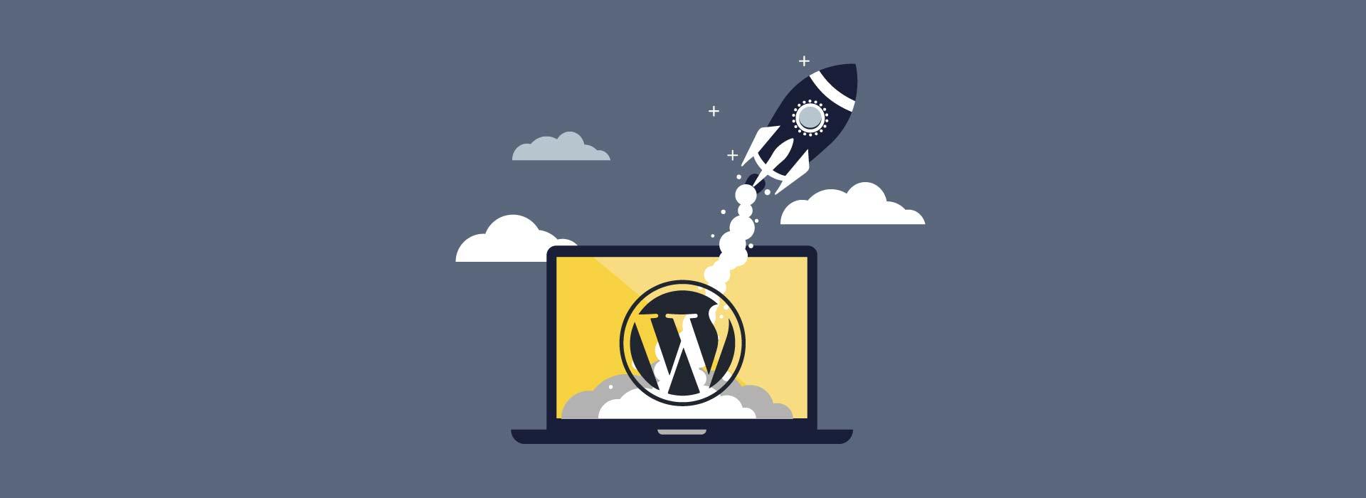 hitrost wordpress spletne strani